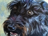 Custom Mini Oil Painting of Dog